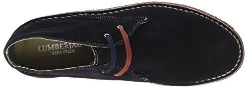 Lumberjack Gable, Sneaker a Collo Alto Uomo Blu (Navy Blue Brick)