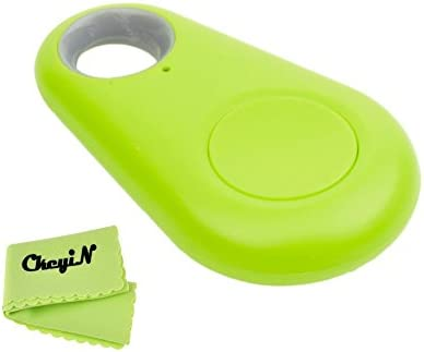 Ckeyin ®tamaño mini Anti-perdida Rastreador de llave inteligente Bluetooth Buscador iTag Bluetooth Anti-perdida recordatorio BT mascotas perseguidor del gato del perro de los niños del perseguidor iTag Perdido