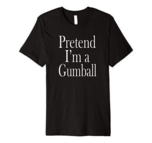 (Gumball Kostüm T-Shirt für die letzten Minute Party)