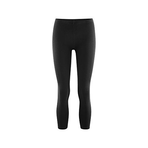 Living Crafts 7/8 Leggings L, black (Damen-bio-baumwoll-strumpfhose Leggings)
