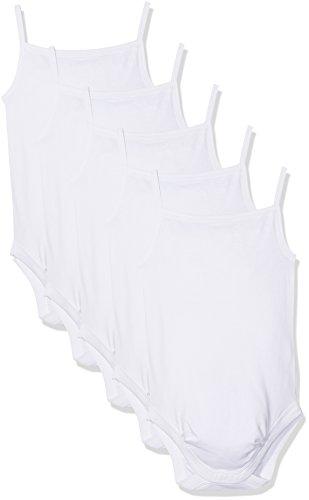 Body Bebé-Niños, pack de 5, Blanco baratos (11-0601 Weiss), 80