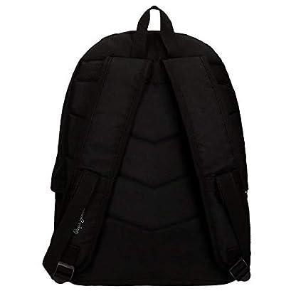 31gaxYrzTLL. SS416  - Pepe Jeans 6682351 Harlow Mochila Escolar, 42 cm, 22.79 litros, Negro