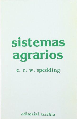 Descargar Libro Sistemas agrarios de C. R. W. Spedding