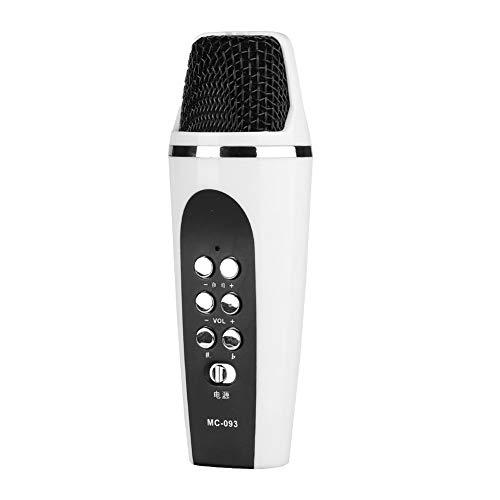 ASHATA Micrófono Cambio de Voz Portátil para iPhone/Android,Micrófono USB Universal para Auriculares de Jack 3,5mm,Microphone Voice Changer del Teléfonos,Computadoras,etc.(4 Modos Voz)