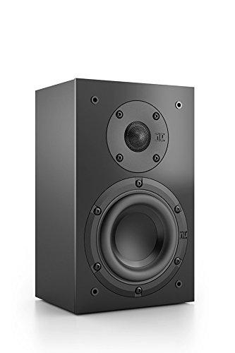 Nubert nuBox WS-103 Wandlautsprecher | Box für Heimkino & Musikgenuss | Flacher Lautsprecher onwall | Passive Surroundbox mit 2 Wege Technik | Kompaktlautsprecher Schwarz | 1 Stück