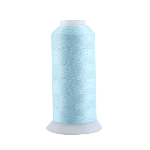 Yosoo 7#(3000Yard) : Polyester Sewing Thread Spool Colorful Spool Threads For Hand Embroidery Machine Sewing ( Size:7#(3000Yard) )