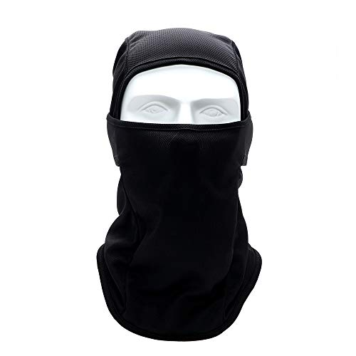 KOUZHAO Staubmaske Maske Hauben Kopfbedeckung Dünne weiche atmungsaktive Maske für Moto Fahrrad Radfahren Motorrad Gesichtsmaske Gesicht und Hals, 1 -