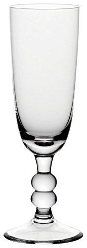 Bohemia Cristal 093/006/048 Cottage Lot de 6 Flutes à Champagne 180 ml