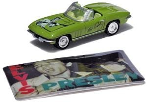 Johnny Lightning '67 Elvis Chevy Corvette Die-cast Car by Johnny Lightning (Lightning Diecast Cars Johnny)