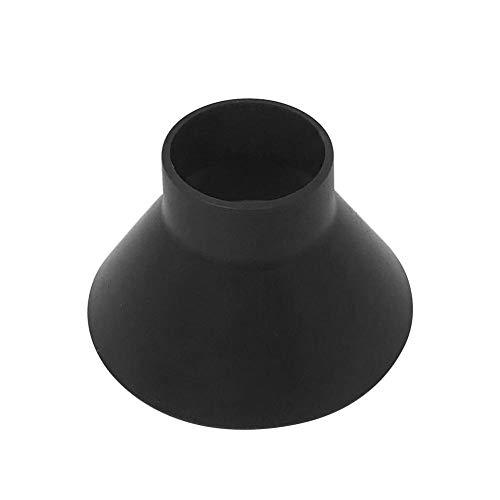 AnySell extérieur Rond Grattoir Pare-Brise Pelle à Neige Scraper Entonnoir en Forme de cône d'hiver de Voiture Outil Snow Remover (05-08 Noir)