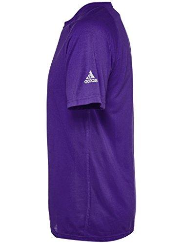 Da uomo Adidas Team Ultimate SS top Purple