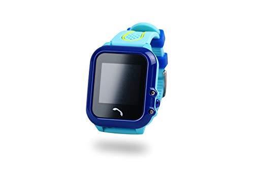 Xblitz Kids Watch GPS v. Find Me, Berührungsempfindlicher Bildschirm, SOS Funktion, telefonbuch, Benachrichtigung, GSM-anrufe Blau/Pink
