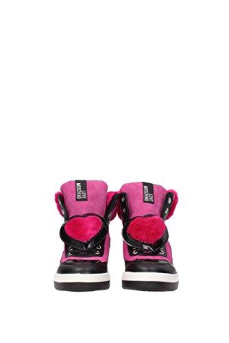 Sneakers Love Moschino Donna - Camoscio (JA15343G04JJ1) EU Fuxia