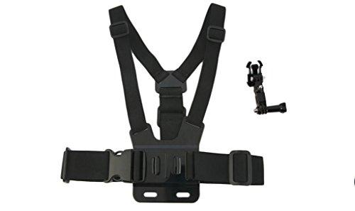 Action-Kamera-Zubehör Verstellbare Brust Auffanggurt elastischer Gürtel Schlaufenhalterung für GoPro HD Hero 4s/4/3+3/2/1 SJCAM Xiaoyi Kamera