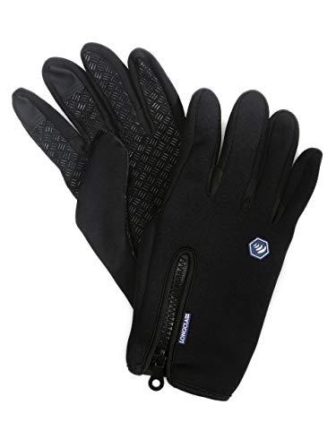 Handschuhe Peter Storm Thinsulate Double Fleece Handschuhe Outdoor Bekleidung Schwarz Camping & Outdoor