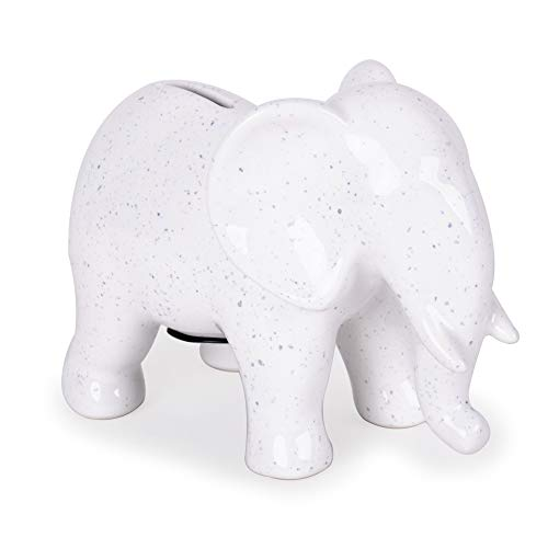 Helio Ferretti. Hucha Forma Elefante Efecto Moteado