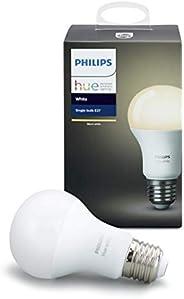 Philips Lighting White Lampadina Intelligente LED Dimmerabile Equivalente A19 E27 60 W Philips Hue Bianca (Com