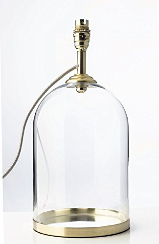 Glass Cloche Design Table Lamp Base