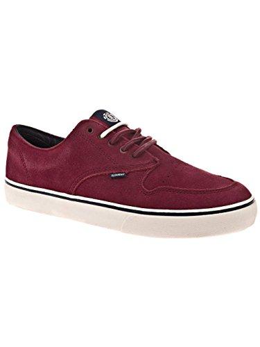 Element Topaz C3, Skateboard homme Red Wine