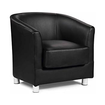 Vegas Black Tub Chair