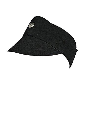 Kostüm Einen Offizier Imperialen - Star Wars Imperial Officer schwarze Uniform Cosplay Muetze Kappe Hut