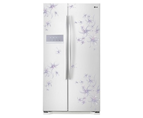 LG 581 L 3 Star Frost-Free Double Door Refrigerator (GC-B207GPQV, Daffodil White)
