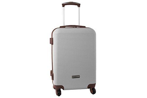 Maleta rígida PIERRE CARDIN beige mini equipaje de mano ryanair S323