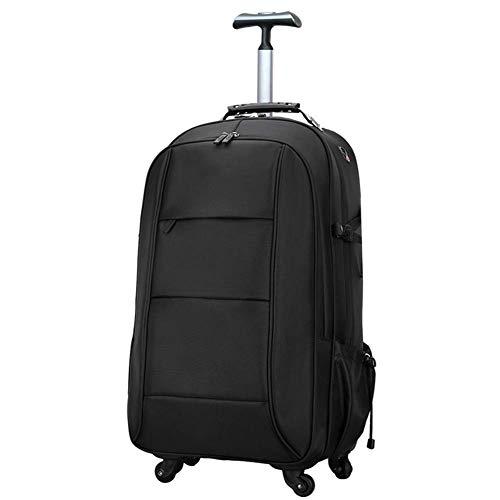 TONGSH Laptop-Rucksack auf Rädern, Student Laptop-Rucksack für die High School oder das College, Rolling Gamer Laptop-Rucksack, Business-Laptop-Rucksack auf Rädern, perfekt für die Reise - Auf Rädern-reise-rucksack