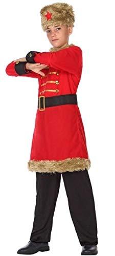 Russisch Mädchen Kostüm - Fancy Me Kostüm für Jungen und Mädchen, rotes Russisches Around The World, 3-12 Jahre