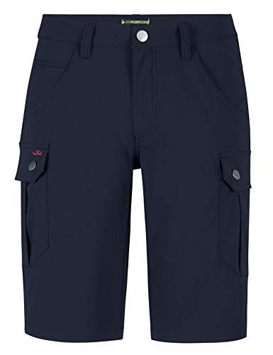 Jeff Green Herren Elastische Schnell Trocknende Leichte Kurze Cargo Outdoor Funktions Hose Stan, Größe - Herren:48, Farbe:Deep Blue