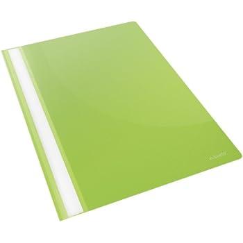 80 gr//mq Polipropilene Capacit/à fino a 160 fogli Nero Esselte VIVIDA 28320 Report File A4 Confezione da 25 pezzi