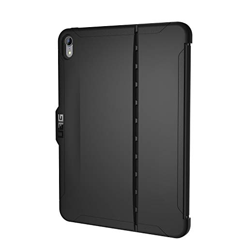 Urban Armor Gear Scout für Apple iPad Pro 11 (2018) Hülle nach US-Militärstandard [benötigt Apple Smart Keyboard Folio, Stifthalter] - schwarz