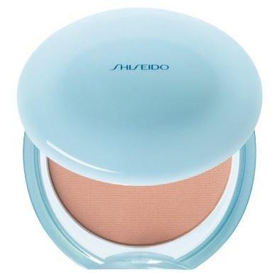 Shiseido Pureté Matifiant Compact Sans Huile Fps 16 40 - Beige Naturel - Pack De 2
