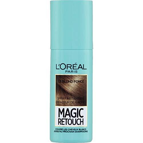 L'Oréal Paris - Spray Magic Retouch Effaceur De Racines Blond Foncé - 75Ml - Lot De 2 - Livraison Rapide en France - Prix Par Lot