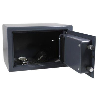 hmf coffre fort avec serrure lectronique 310 x 200 x 200 mm 123chantier. Black Bedroom Furniture Sets. Home Design Ideas
