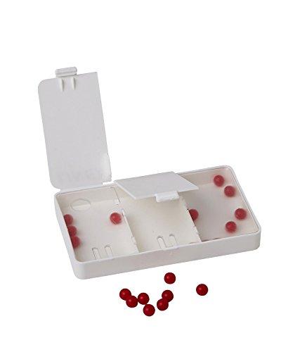 Zahlenzerlegungsbox für Schüler, mit 20 roten Kugeln -- Schüttelbox -- Rechenhilfe mit Selbstkontrolle -- auch für Dyskalkulie geeignet (Spielzeug-box, 1-jährige Für)