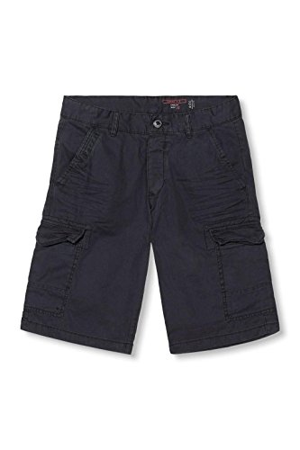 edc by ESPRIT Herren Shorts Schwarz (Black 001)