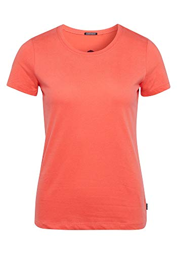 GOTS-zertifizierter Produktion T-Shirt, Hot Coral, M ()