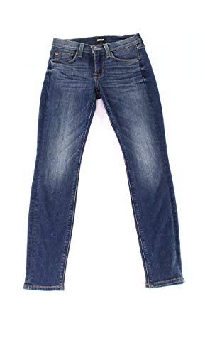 HUDSON Womens Super Skinny-Leg Ankle Stretch Jeans Blue 24 - Super Skinny Leg