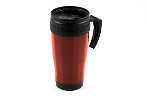 Tableware Gobelet isotherme avec poignée en rouge 400 ml