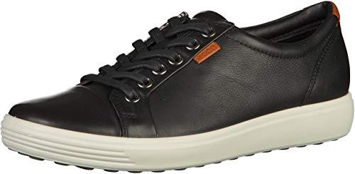 Ecco Damen SOFT7W Sneakers, Schwarz (BLACK 1001), 42 EU