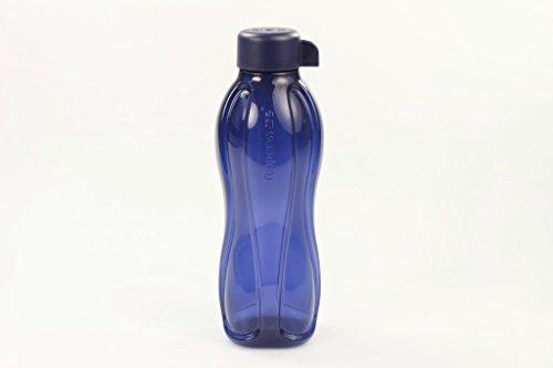 TUPPERWARE Eco 500 ml Drehverschluss To Go Trinkflasche Öko Ecoflasche dunkelblau 28912