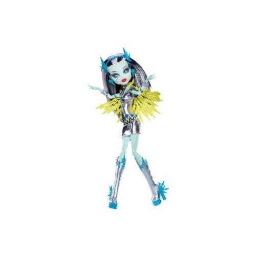 Mattel Y7298/BBR88-11A - Neue Monster High Exclusive Superhero Frankie Stein - Voltageous (Monster High Gil Und Lagoona)