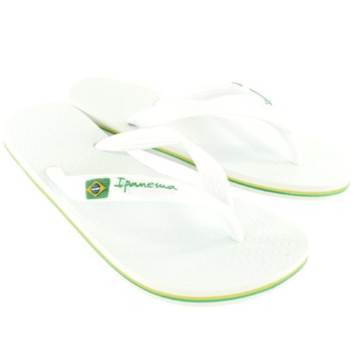 Damen Brasil Flop Ipanema Urlaub Ii Sommer Flip Weiß Strand Sandale OSnn1Ir