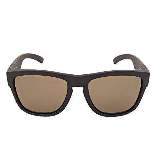Smith Unisex-Erwachsene CLARK L7 DL5 55 Sonnenbrille, Matt Black/Grey Grn Pz Cp,
