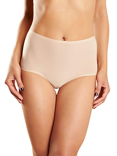 86453588ddf3e Chantelle Women's Soft Stretch One Size High Rise Brief, Ultra Nude