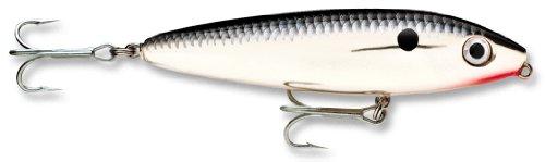 Rapala Saltwater Skitter Walk 11 Fishing lure, 4.375-Inch, Chrome (Rapala Saltwater Skitter Walk)