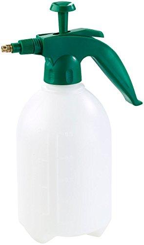 PEARL Druck Wassersprüher: Universal-Pump-Druck-Sprüher mit Messingdüse, lösungsmittelfest, 2 l (Universal Pump Drucksprüher) - Geschirrspüler 2 Schritt