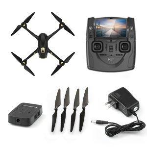 Hubsan H501S X4 Brushless FPV GPS Quadrocopter 5.8 Ghz Drohne mit 1080P Full HD Kamera und Follow-Me Modus RTH-Funktion Schwarz&Gold - 8