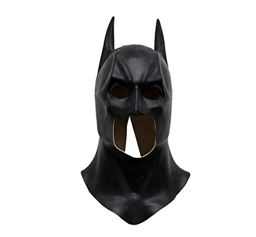 JIAENY Halloween-Maske,Halloween Maske Mask Batman Masken Halloween Vollgesichts Latex Batman Muster Maske Kostüm Party Masken Karneval Cosplay - Muster Für Kostüm